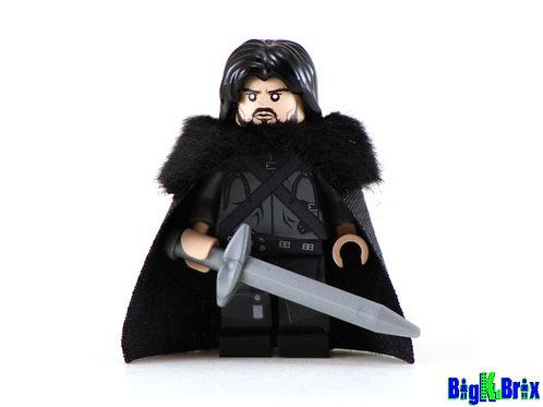 JON SNOW Custom Printed & Inspired Game of Thrones Lego Minifigure