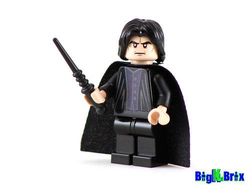 SEVERUS SNAPE Custom Printed & Inspired Lego Harry Potter Minifigure