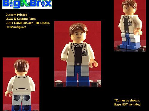 "Curt Conners ""The Lizard"" Marvel Custom Printed Minifigure"