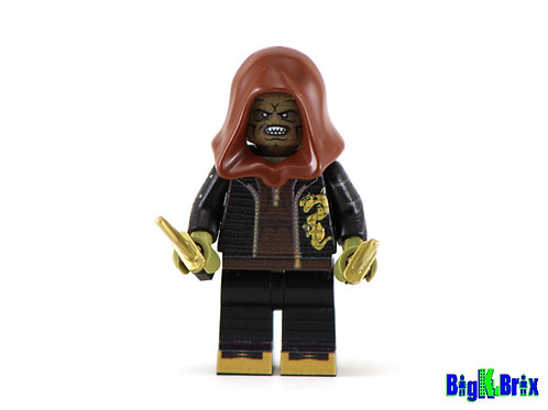 KILLER CROC Custom Printed & Inspired Lego DC Suicide Squad Minifigure