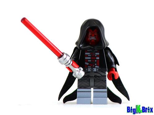 DARTH RAVAGER Custom Printed on Lego Minifigure! Star Wars