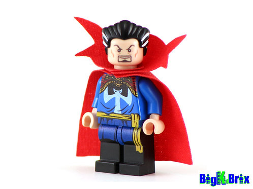 DOCTOR STRANGE Original Custom Printed & Inspired Lego Marvel Minifigure