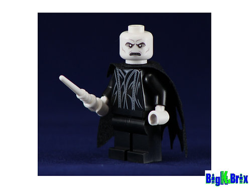 LORD VOLDEMORT Custom Printed & Inspired Lego Harry Potter Minifigure