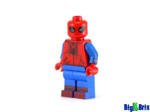 SPIDERMAN HOMECOMING Custom Printed & Inspired Lego Marvel Minifigure
