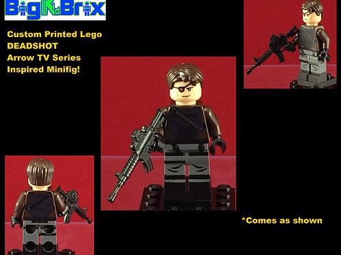 Deadshot Arrow Tv DC Custom Printed Minifigure