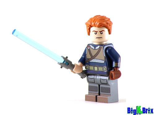 CAL KESTIS Custom Printed on Lego Minifigure! Star Wars