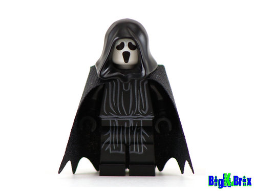 GHOSTFACE Scream Custom Printed & Inspired Lego Horror Minifigure!