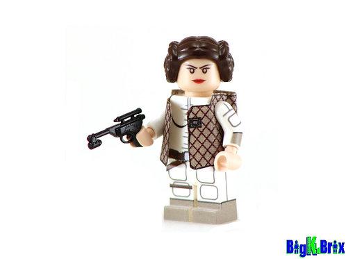 PRINCESS LEIA Comic Vers. Custom Printed on Lego Minifigure! Star Wars