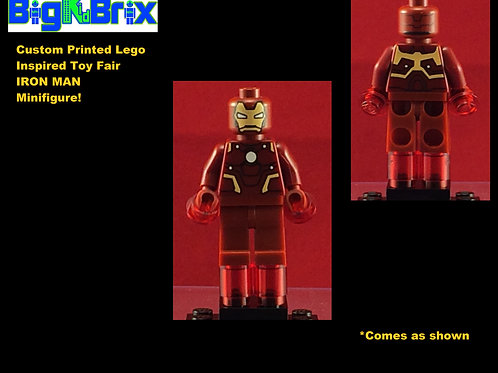 Iron Man Toy Fair Inspired Marvel Custom Printed Minifigure
