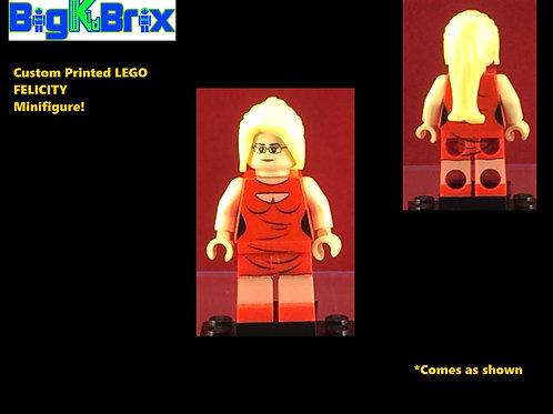 Felicity Flash Show DC Custom Printed Minifigure
