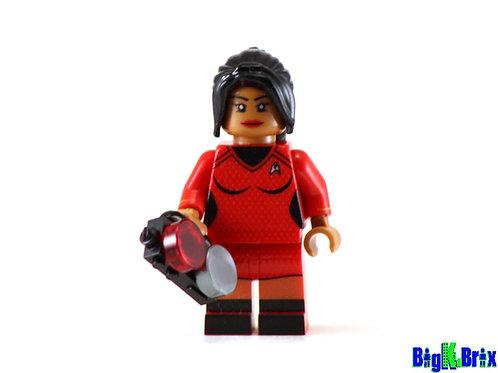 NYOTA UHURA Custom Printed on Lego Minifigure! Star Trek