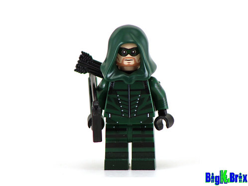 GREEN ARROW Oliver Queen Custom Printed & Inspired DC Minifigure