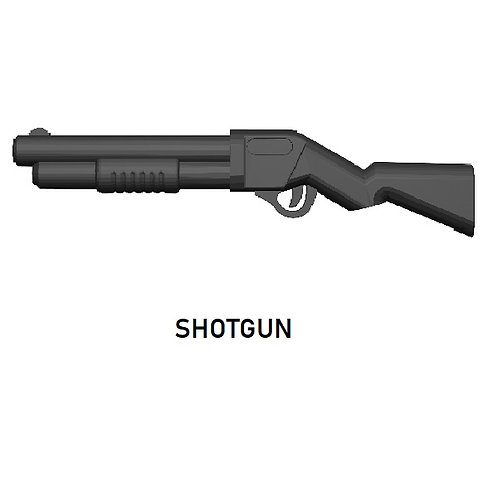 SHOTGUN Custom Weapon for Lego Minifigures