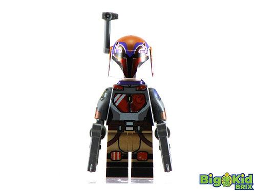 SABINE WREN Season 7 w/JetPack Custom Printed on Lego Minifigure! Star Wars