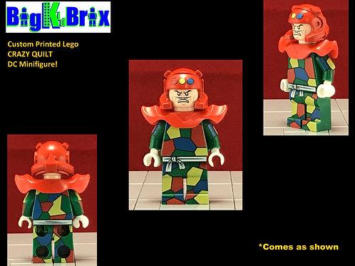 CRAZY QUILT Batman Villian DC Custom Printed Lego Minifigure