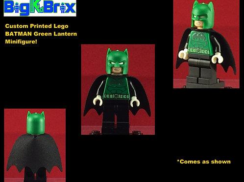 Batman Green Lantern DC Custom Printed Minifigure