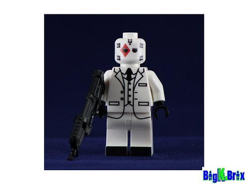 WILD CARD Custom Printed on Lego Minifigure! Fortnite Game