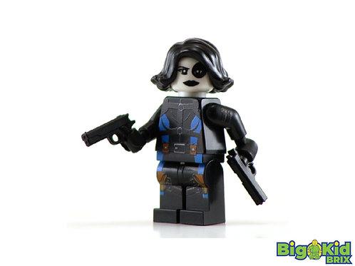 DOMINO Custom Printed on Lego Minifigure! Marvel