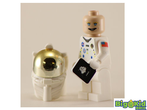 BUZZ ALDRIN Custom Printed on Lego Minifigure! American Hero