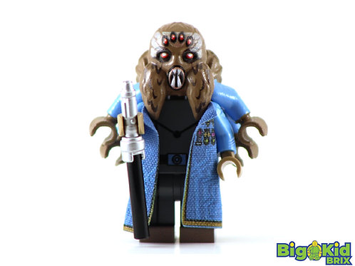 ADMIRAL TRENCH Custom Printed on Lego Minifigure! Star Wars