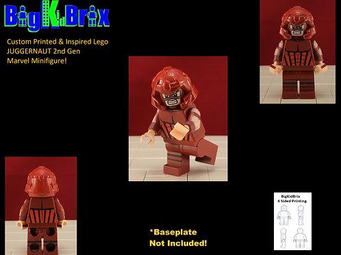 JUGGERNAUT 2nd Gen Custom Printed & Inspired Lego Marvel Minifigure