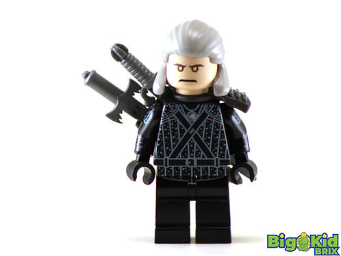 WITCHER Custom Printed on Lego Minifigure! The Witcher Game