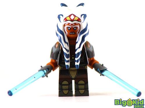 AHSOKA TANO Adult Custom Printed on Lego Minifigure! Star Wars LIMITED EDITION