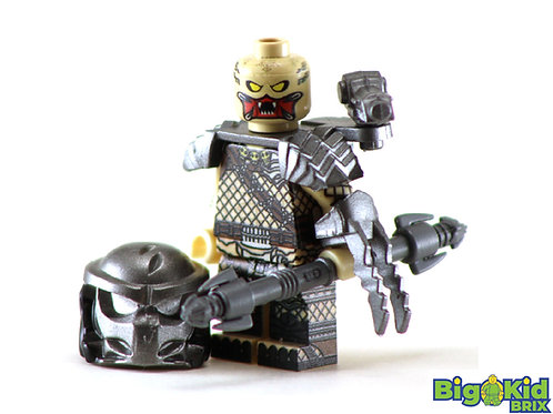 PREDATOR Custom Printed on Lego Minifigure! HORROR