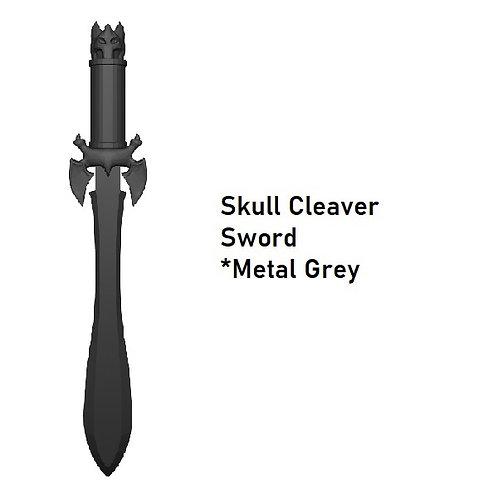 SKULL CLEAVER SWORD Custom for Lego Minifigure!