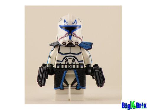 CAPTAIN REX Custom Printed on Lego Minifigure! Star Wars