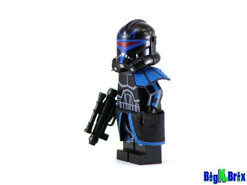 CAPTAIN REX SHADOW Trooper Custom Printed on Lego Minifigure! Star Wars