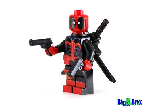 DEADPOOL ULTIMATE Custom Printed on Lego Minifigure! Marvel