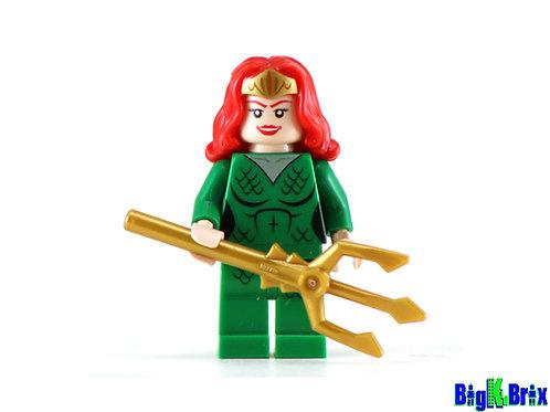 MERA Custom Printed on Lego Minifigure! DC