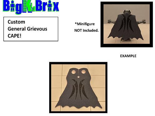 General Grievous Custom Printed Grey Cape
