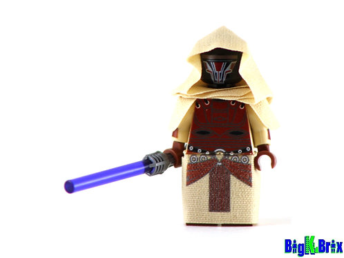 JEDI REVAN V2 Custom Printed on Lego Minifigure! Star Wars