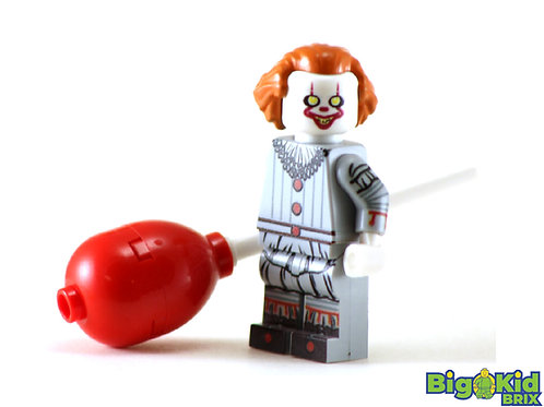 PENNYWISE Custom Printed on Lego Minifigure! IT MOVIE