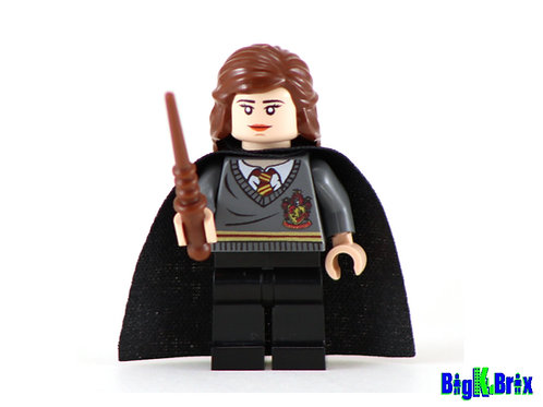HERMIONE GRANGER Custom Printed & Inspired Lego Harry Potter Minifigure