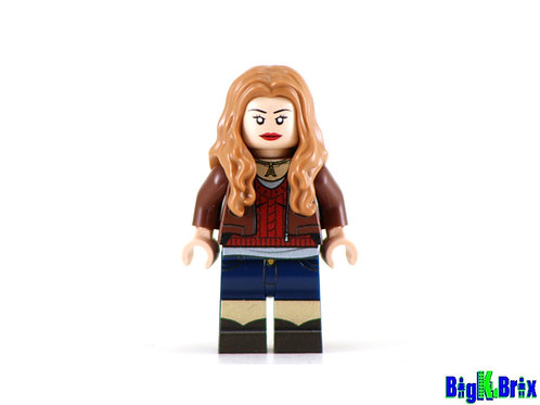 AMY POND Doctor Who Custom Printed on Lego Minifigure!