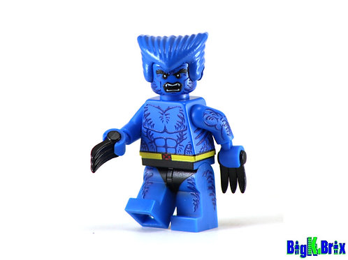 BEAST Xmen Custom Printed on Lego Minifigure! Marvel