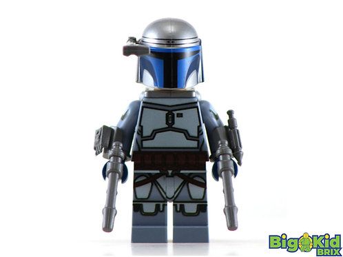 JANGO FETT Custom Printed on Lego Minifigure! Star Wars