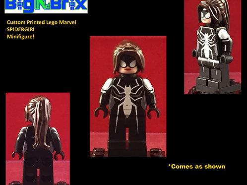 Spidergirl Marvel Custom Printed Minifigure