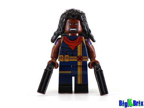 BISHOP Custom Printed on Lego Minifigure! Marvel Xmen