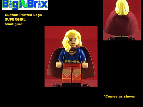 Supergirl DC Custom Printed Minifigure