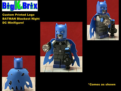 Batman Blackest Knight DC Custom Printed Minifigure