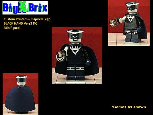 BLACK HAND Vers2 Custom Printed & Inspired Lego DC Minifigure