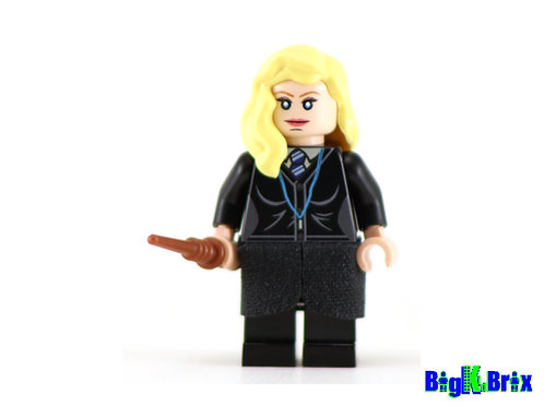 LUNA LOVEGOOD Custom Printed & Inspired Lego Harry Potter Minifigure