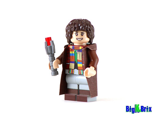 DOCTOR WHO #4 Custom Printed on Lego Minifigure! Dr. Who