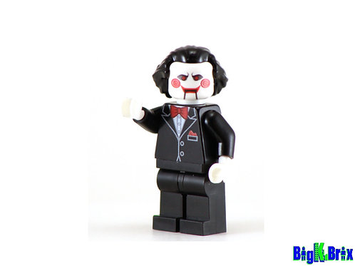 SAW Billy Custom Printed on Lego Minifigure! HORROR