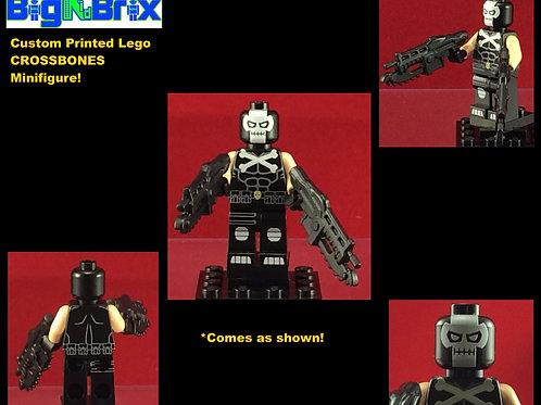 Crossbones Marvel Custom Printed Minifigure
