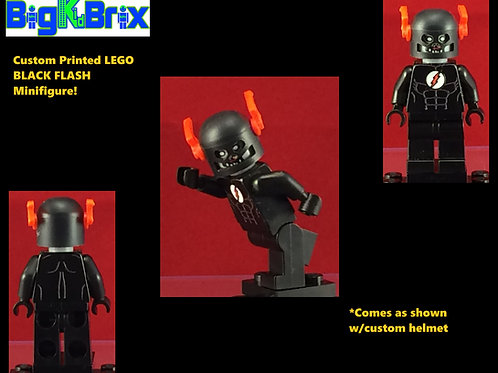 BLACK FLASH Custom Printed & Inspired Lego DC Minifigure